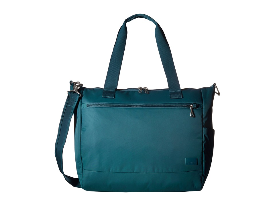 Pacsafe - Citysafe CS400 Travel Tote (Teal) Tote Handbags