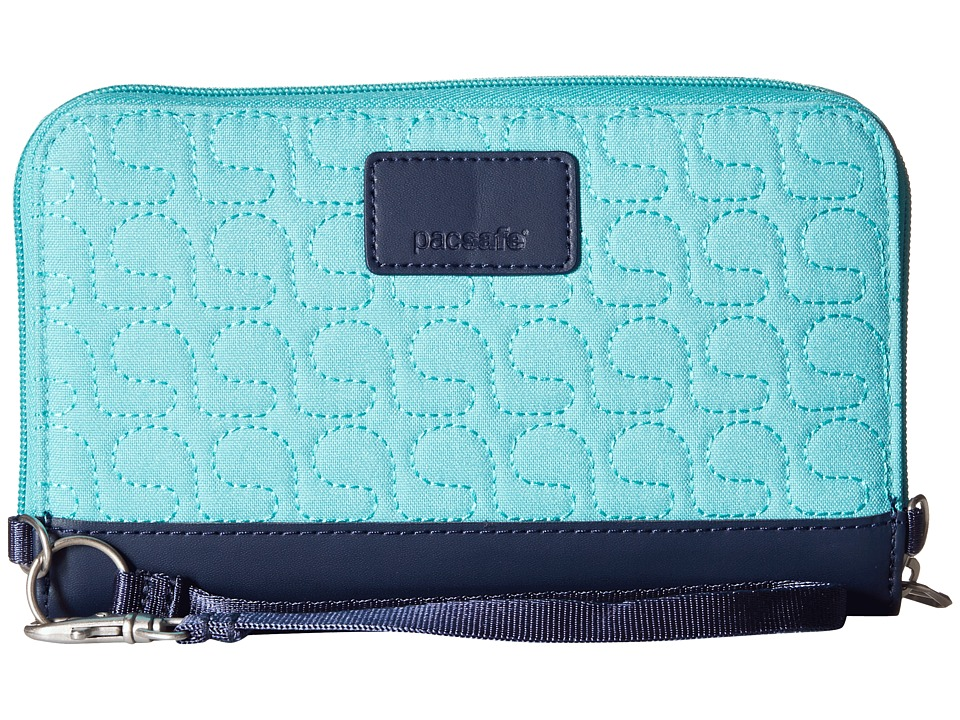 Pacsafe - RFIDsafe W200 RFID Travel Wallet (Lagoon) Wallet Handbags