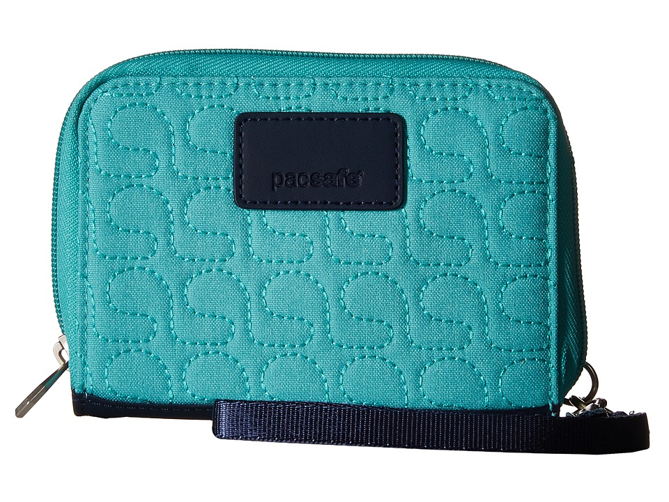 Pacsafe - RFIDsafe W100 RFID Wallet (Lagoon) Wallet Handbags