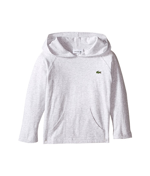 Lacoste Kids L/S Jersey Hoodie Tee (Toddler/Little Kids/Big Kids)