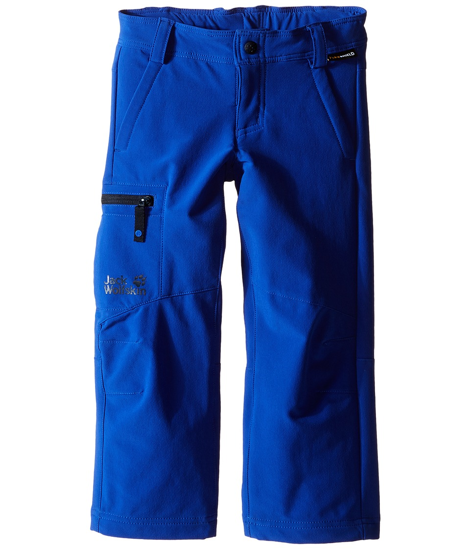Jack Wolfskin Kids Activate II Softshell Pants Infant/Toddler Active Blue Boys Casual Pants