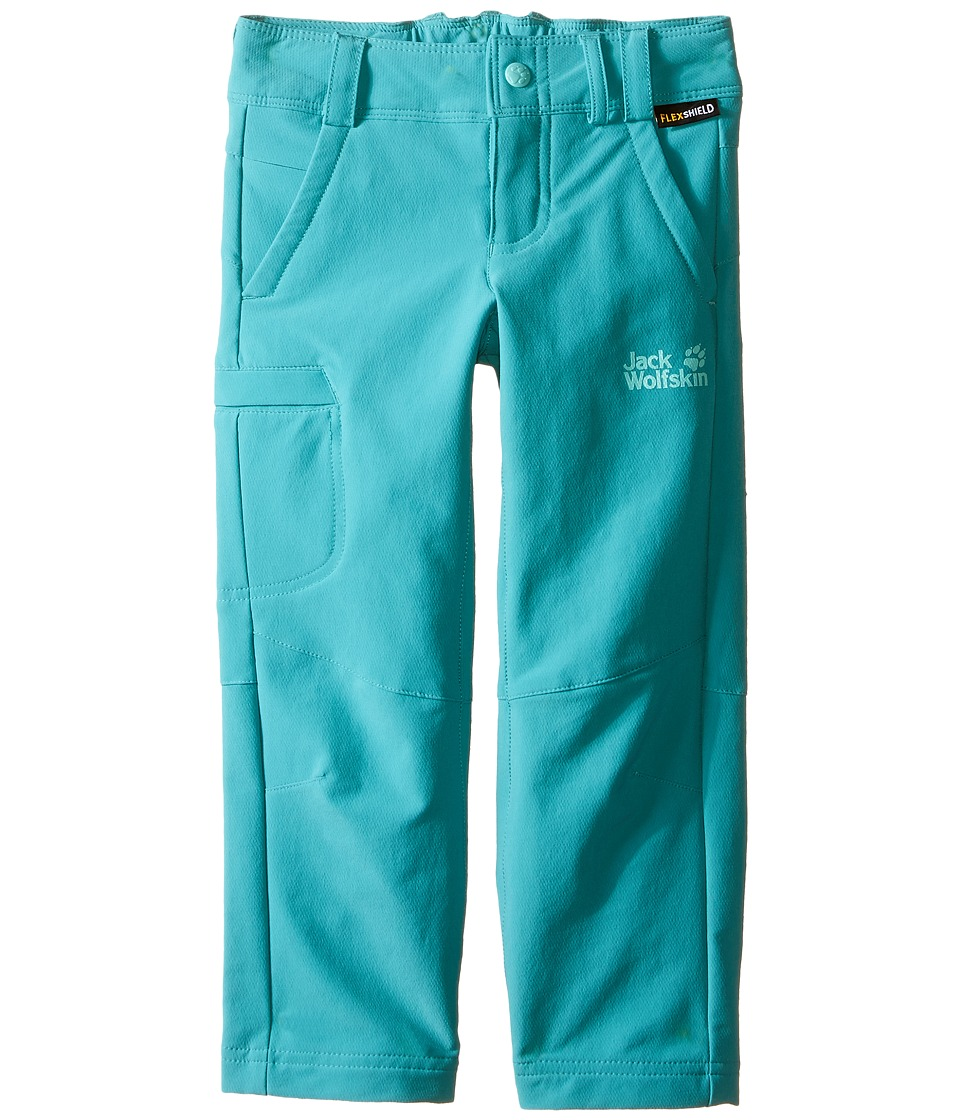 Jack Wolfskin Kids Activate II Softshell Pants Infant/Toddler Spearmint Girls Casual Pants