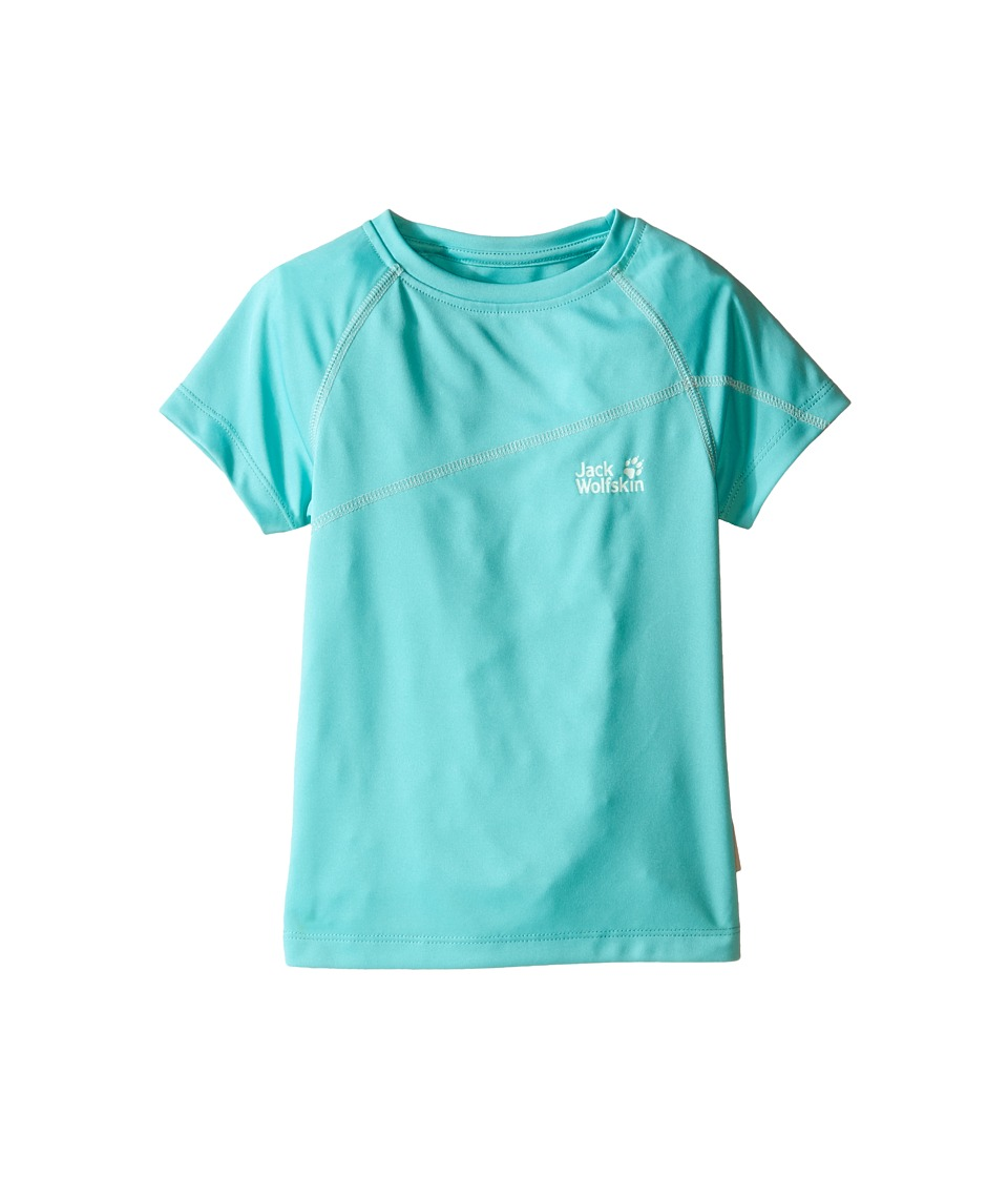 Jack Wolfskin Kids Active T Shirt Infant/Toddler Pool Blue Girls T Shirt