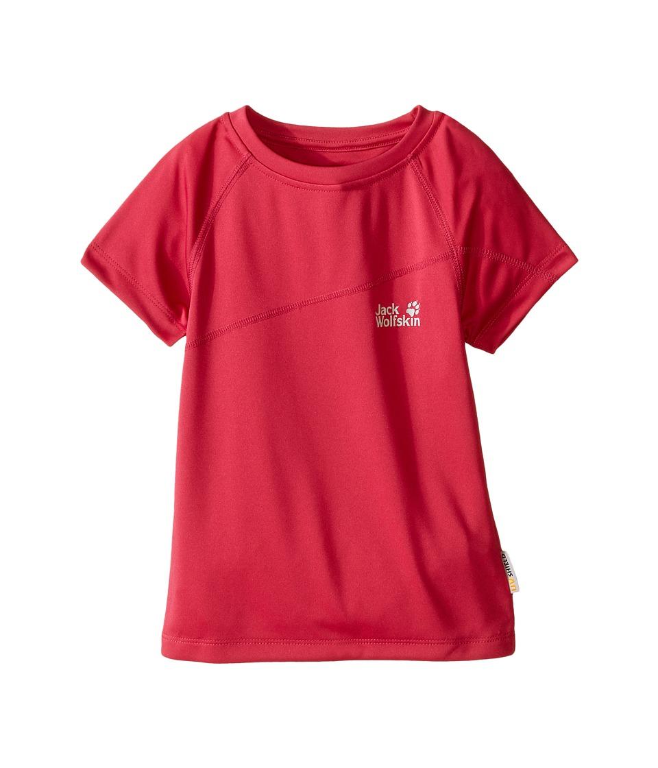 Jack Wolfskin Kids Active T Shirt Infant/Toddler Pink Raspberry Girls T Shirt