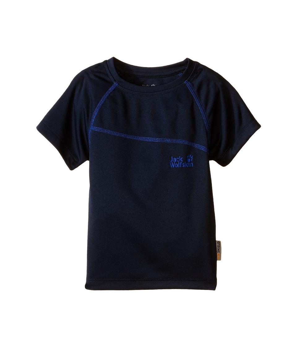 Jack Wolfskin Kids Active T Shirt Infant/Toddler Night Blue Boys T Shirt