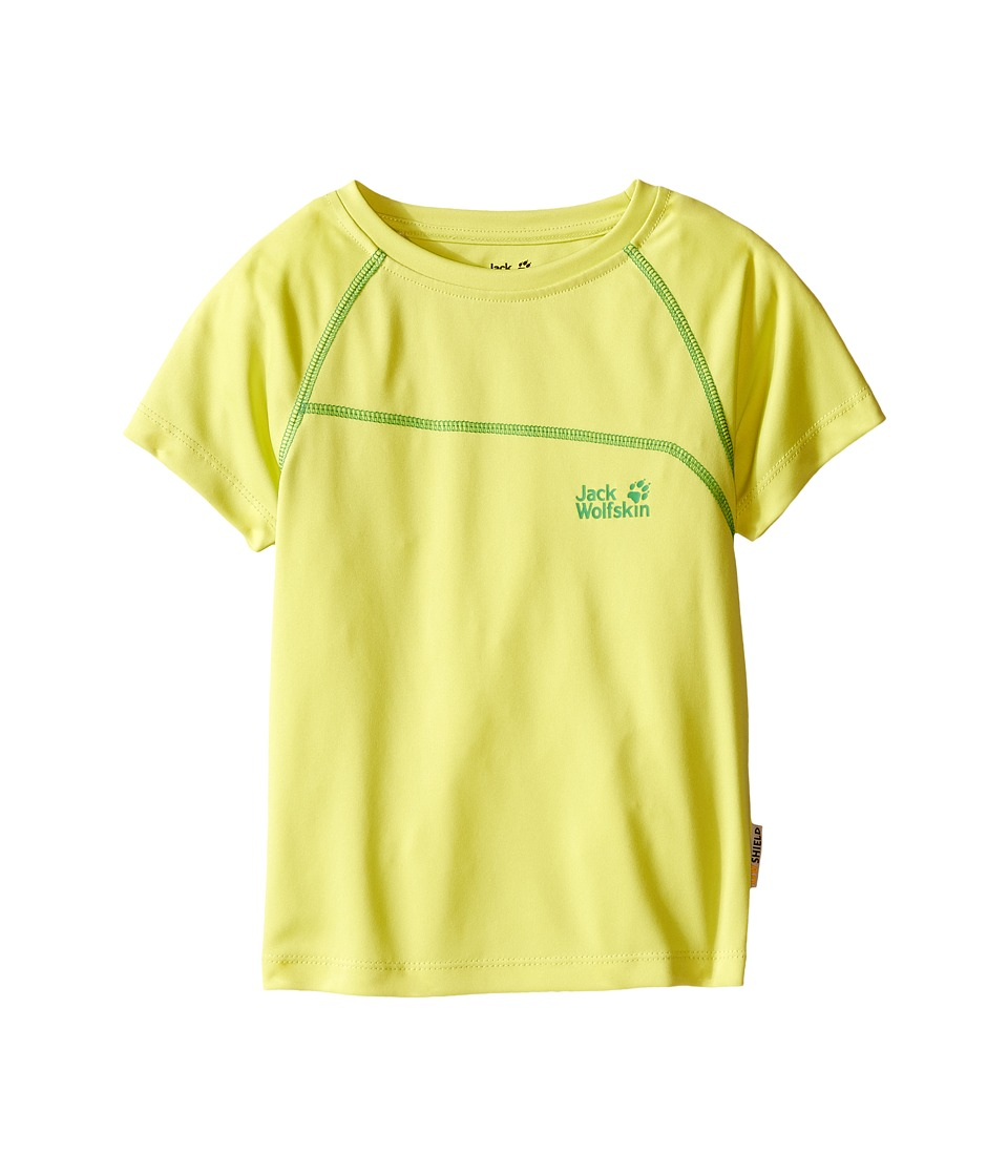 Jack Wolfskin Kids Active T Shirt Infant/Toddler Bright Absinth Boys T Shirt