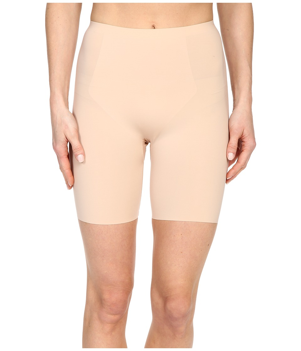 Spanx Thinstincts Mid Thigh Short Soft Nude Womens Underwear