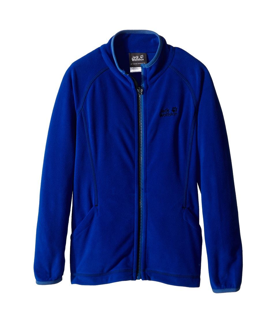 Jack Wolfskin Kids Woodpecker 3 Jacket Little Kid/Big Kid Active Blue Boys Coat