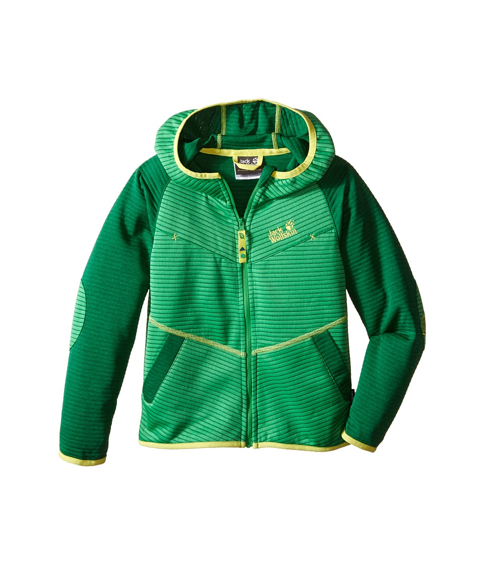Jack Wolfskin Kids Tongari Jacket Little Kid/Big Kid Seagrass Boys Coat