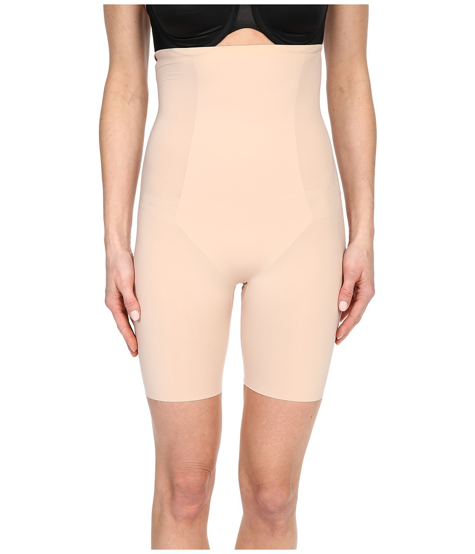Spanx Thinstincts High Waisted Mid Thigh Short Soft Nude Womens Underwear
