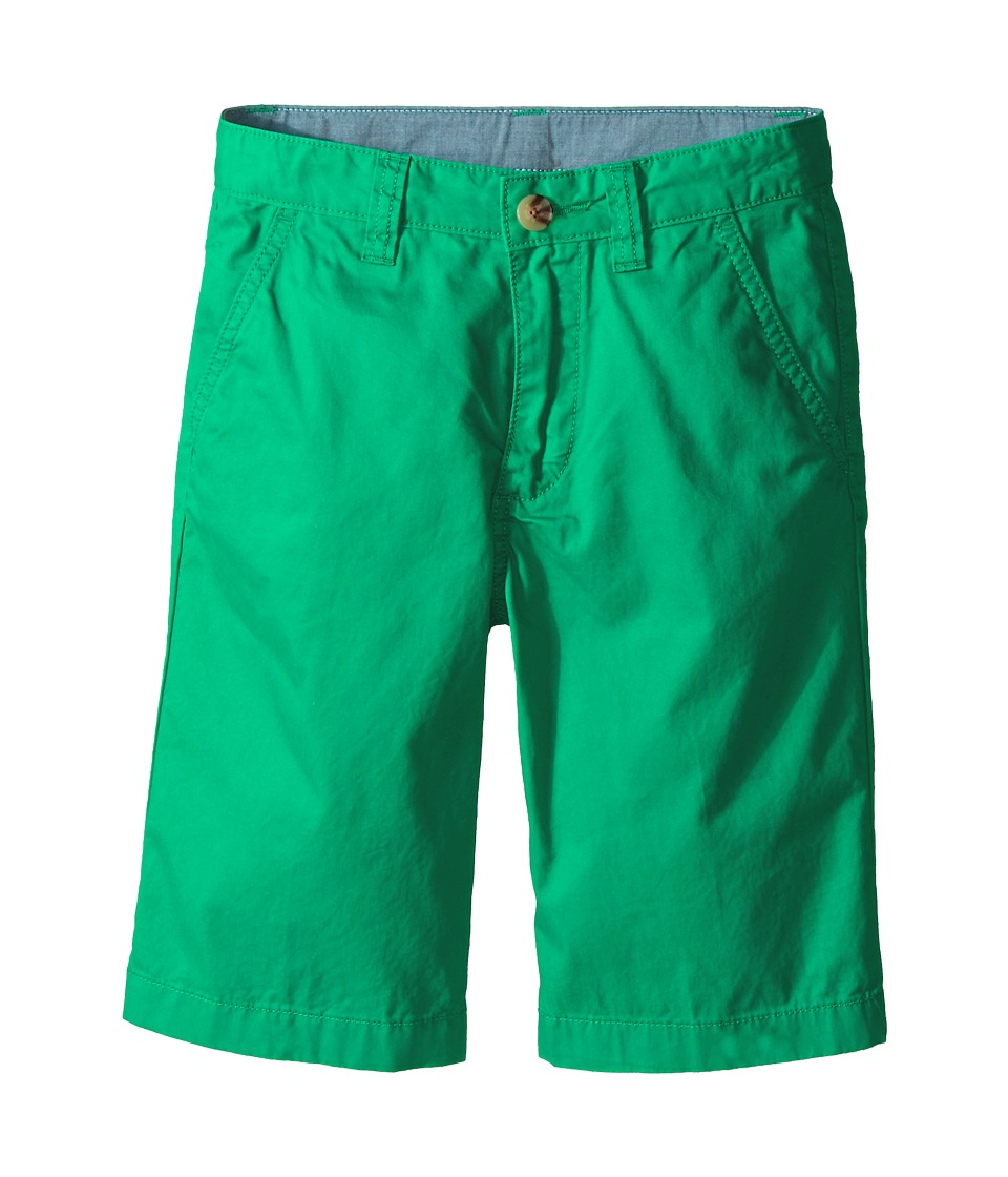 Lacoste Kids Cotton Gabardine Bermuda Short Little Kids/Big Kids Menthol Green Boys Shorts