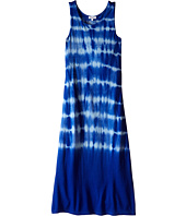 Splendid Littles - Tie-Dye Hi-Low Hem Maxi Dress (Big Kids)