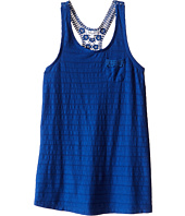 Splendid Littles - Leno Stripe Tank Top with Lace (Big Kids)