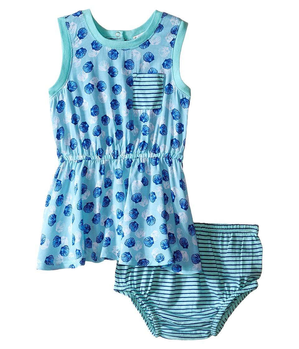 Splendid Littles All Over Print Dress Infant Aqua Girls Dress