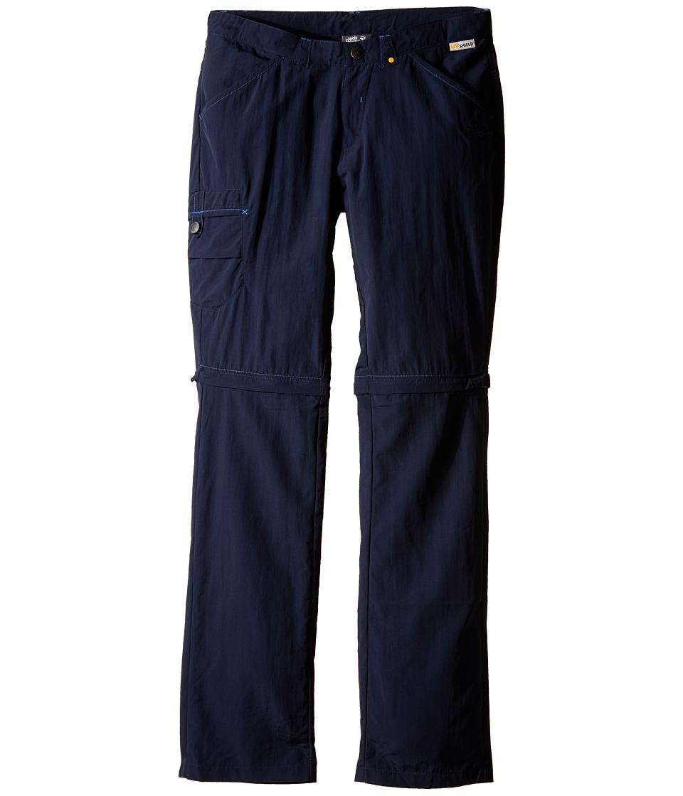 Jack Wolfskin Kids - Safari Zip Off Pants (Little Kid/Big Kid) (Night Blue) Kid's Casual Pants