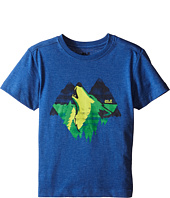 Jack Wolfskin Kids - Howling Wolf T-Shirt (Little Kid/Big Kid)
