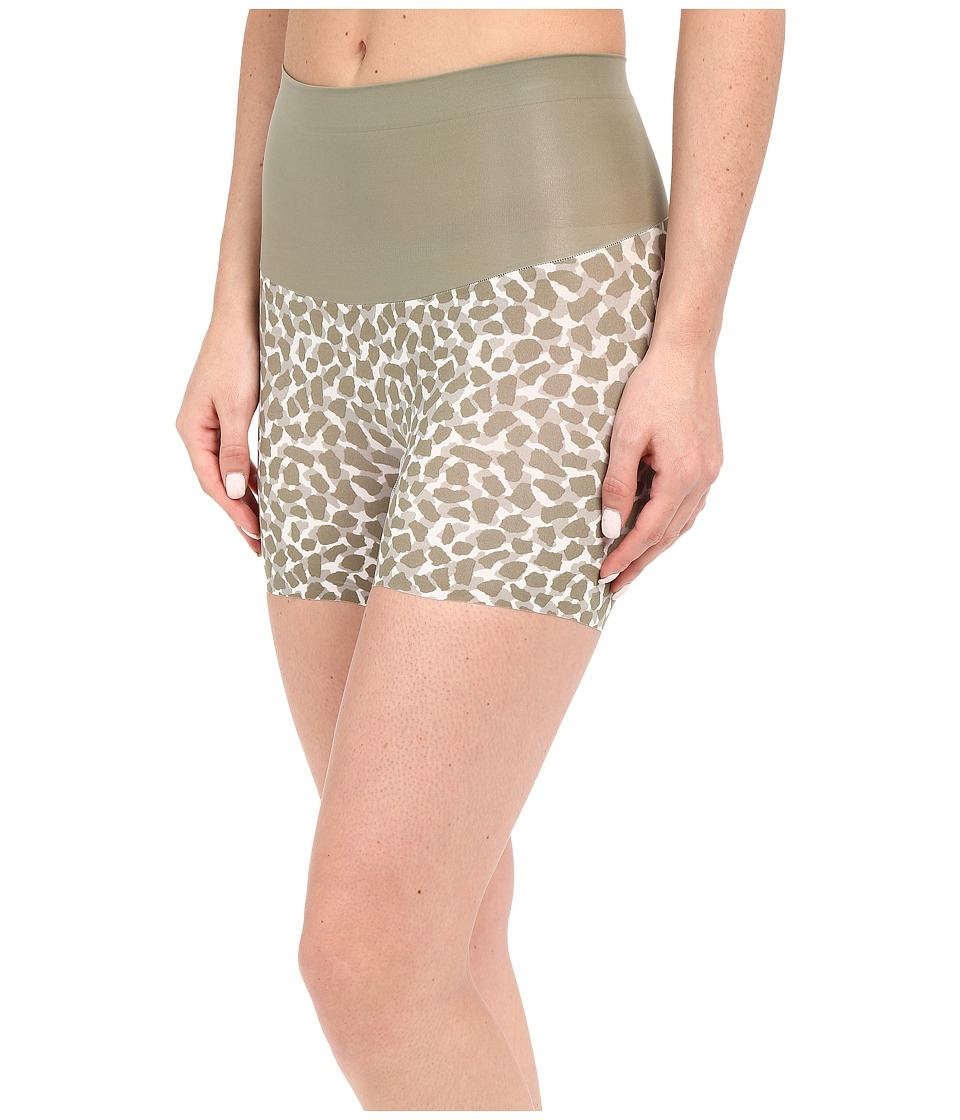 Spanx Shape My Day Girlshorts Olivine Giraffe Womens Underwear