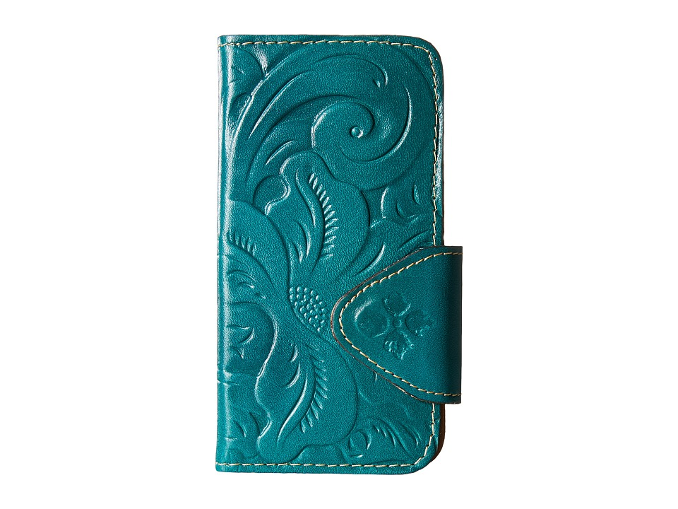 Patricia Nash - Tooled Fiona iPhone 6 Case (Jade Tooled) Cell Phone Case