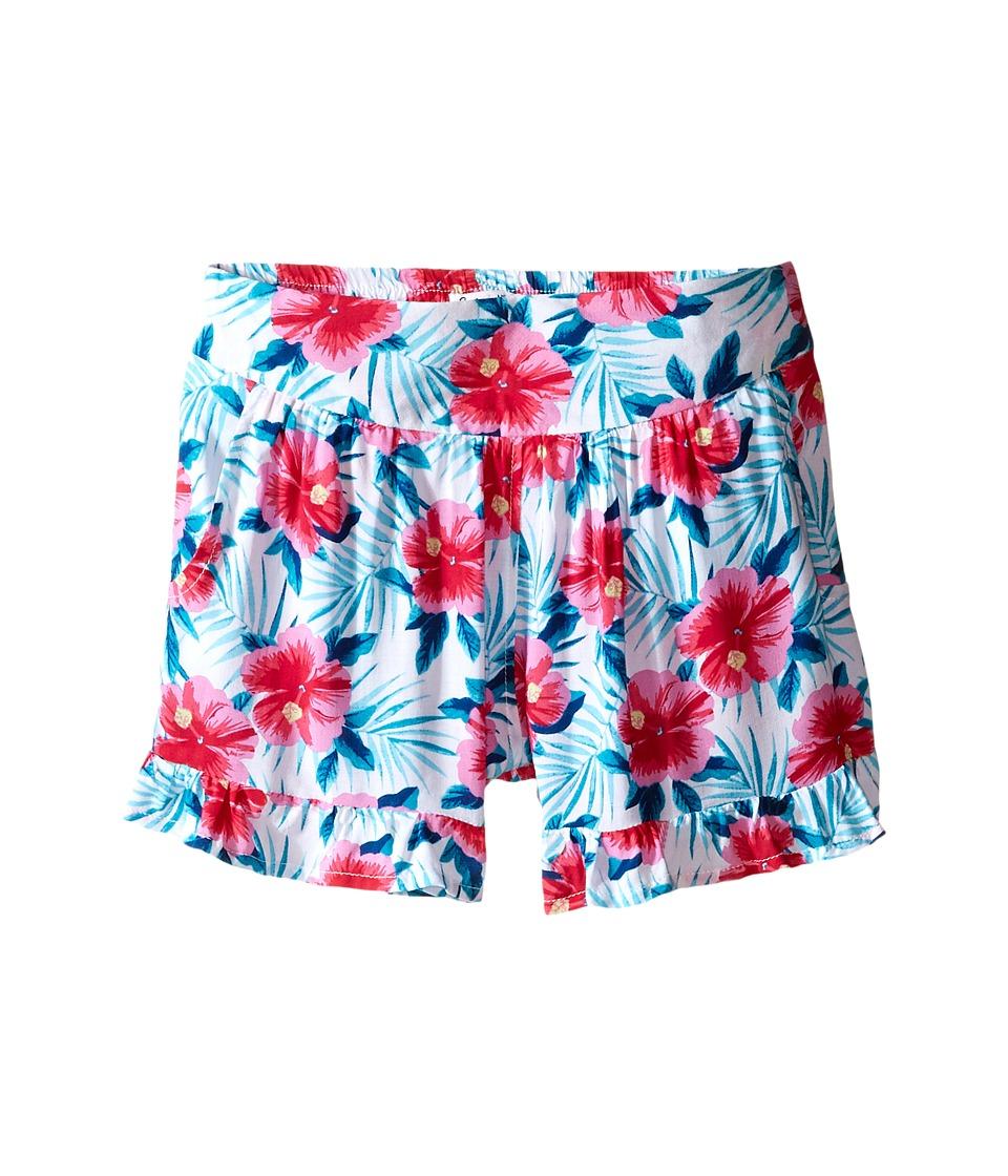 Splendid Littles All Over Print Ruffle Shorts Big Kids Print Girls Shorts