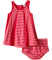 Splendid Littles - Striped Dress with Yarn Dye Overlays (Infant)