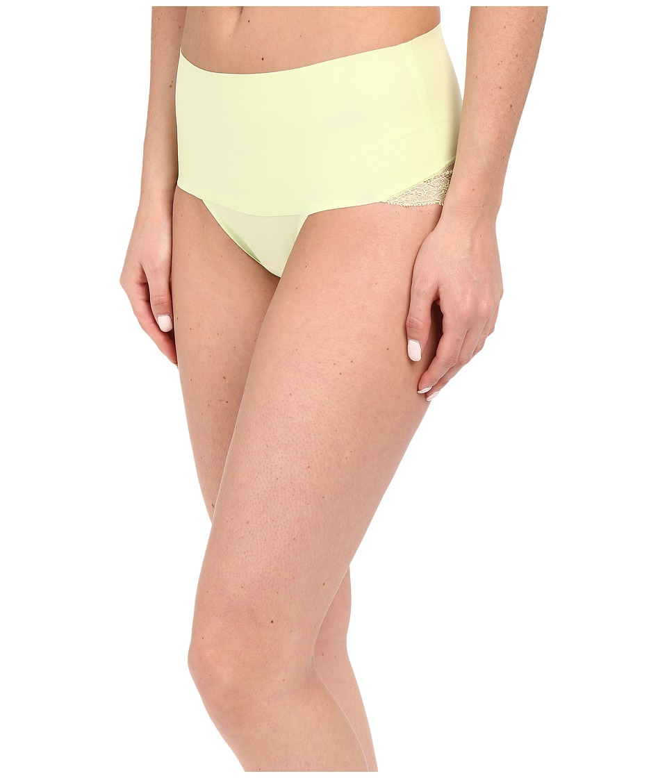 Spanx Undie tectable Lace Cheeky Limeade Womens Underwear