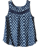 Splendid Littles - Printed Denim Tank Top (Big Kids)