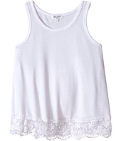 Splendid Littles - Loose Knit Tank Top with Lace Hem (Big Kids)