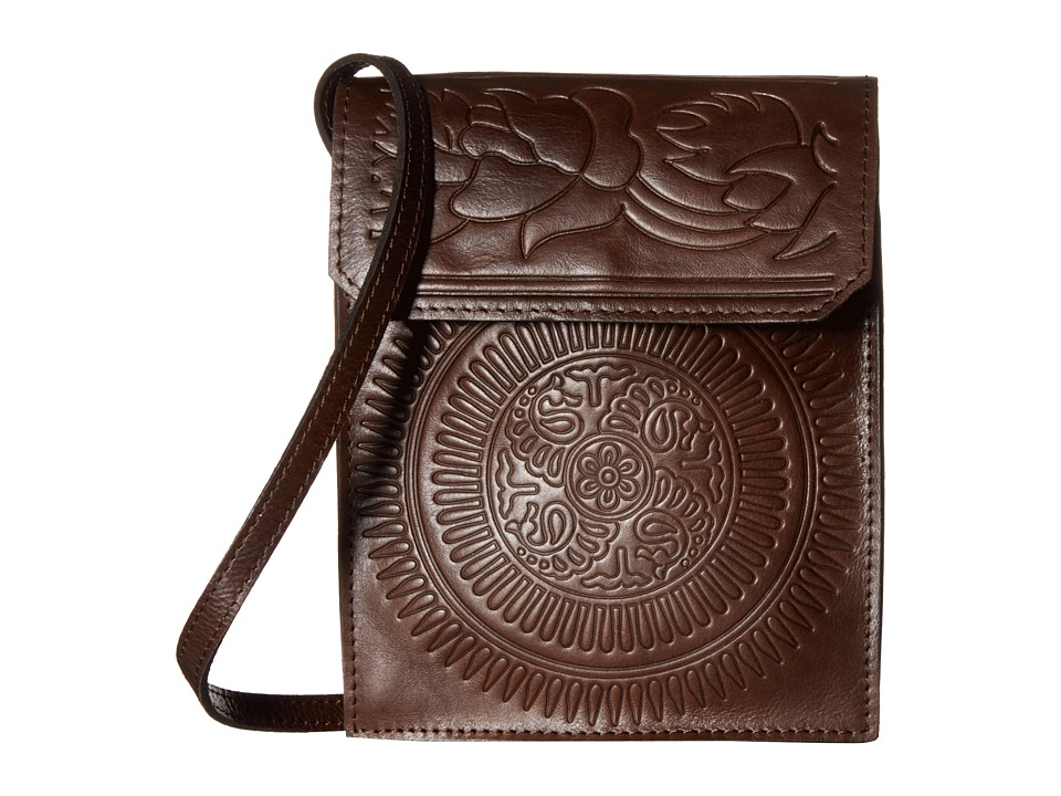 Patricia Nash Biella Envelope Flap Brown Bags