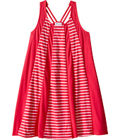 Splendid Littles - Striped Dress with Yarn Dye Overlays (Little Kids)