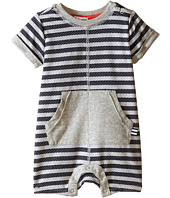 Splendid Littles - Striped Mesh Romper (Infant)