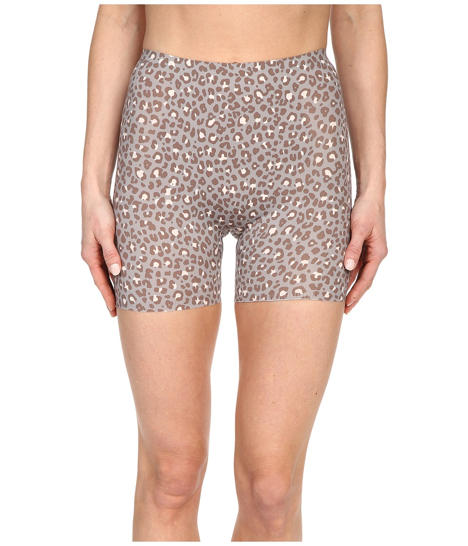 Spanx Thinstincts Girl Short Mini Leopard Print Womens Underwear