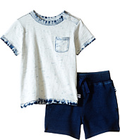 Splendid Littles - Bleach Indigo Tee with Shorts Set (Infant)