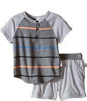Splendid Littles - Mix Stripe Tee with Shorts Set (Infant)