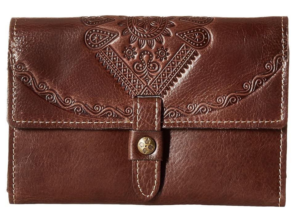 Patricia Nash - Colli Wallet (Brown) Wallet Handbags