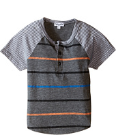 Splendid Littles - Mixed Stripe Short Sleeve Raglan Crew (Toddler)