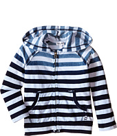 Splendid Littles - Striped Dip Dye Indigo Zip-Up Hoodie (Toddler)