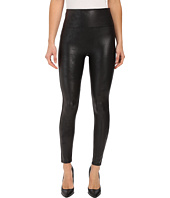 Spanx - Cut & Sew Cropped Leather Leggings
