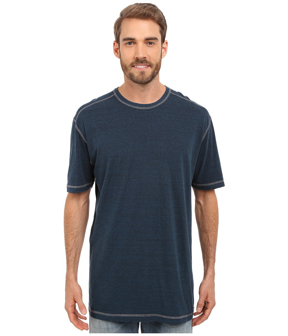 Agave Denim Albion Short Sleeve Crew Blue Wing Teal Mens Short Sleeve Pullover