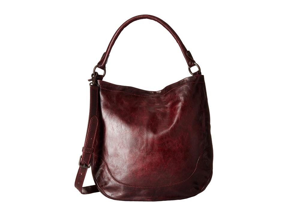 Frye - Melissa Hobo (Wine) Hobo Handbags
