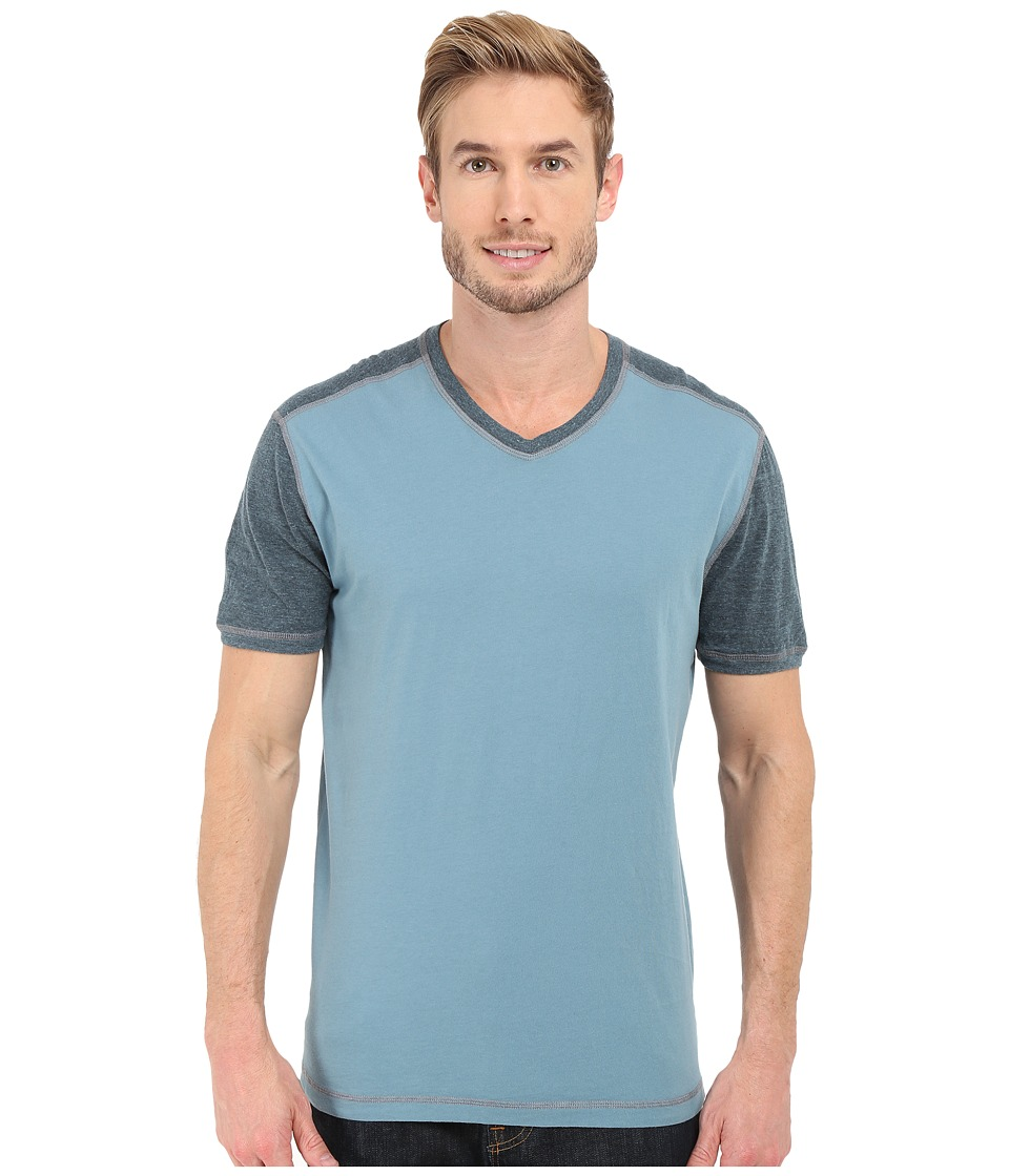 Agave Denim Rubicon Baseball V Neck Short Sleeve Citadel Mens Short Sleeve Pullover