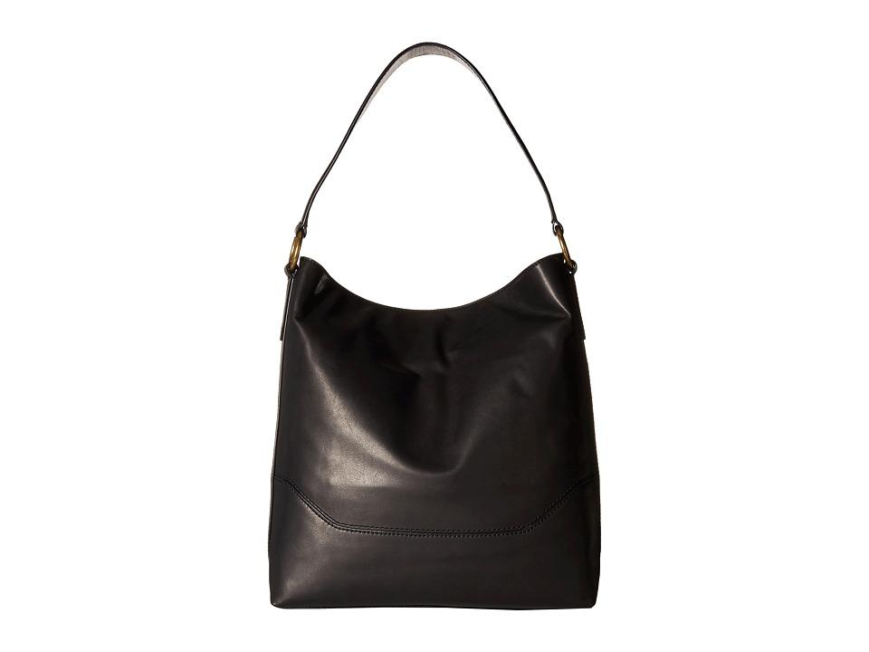 Frye - Paige Hobo (Black) Hobo Handbags