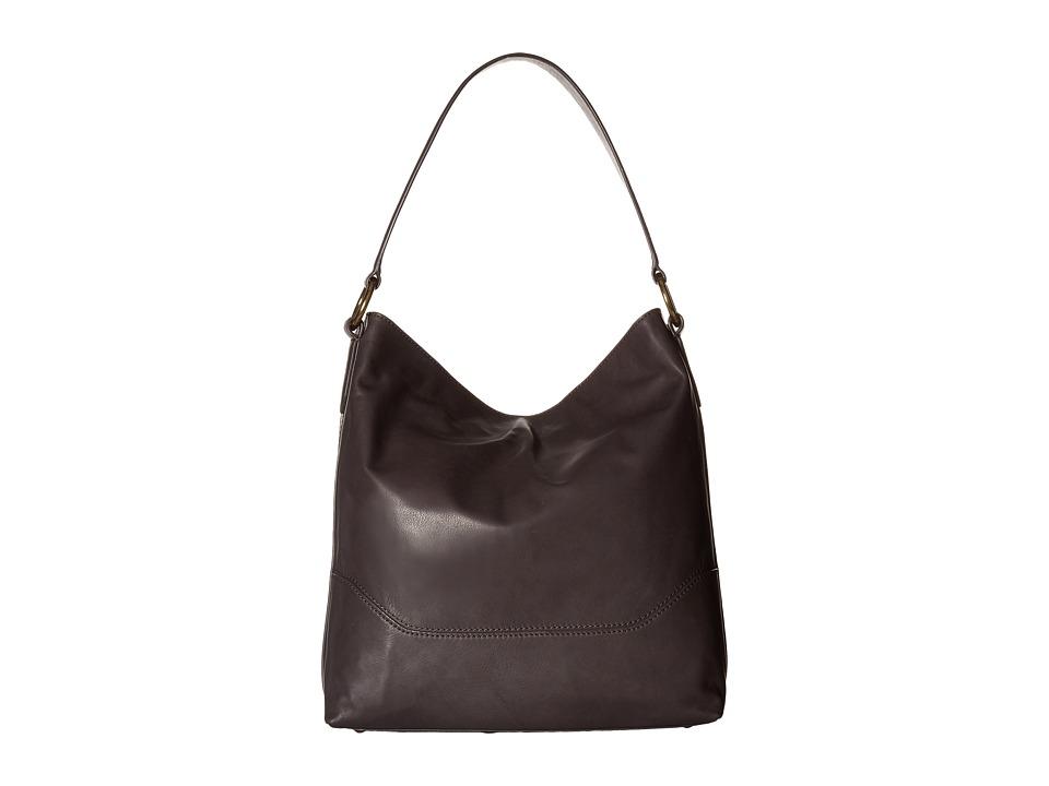 Frye - Paige Hobo (Charcoal) Hobo Handbags