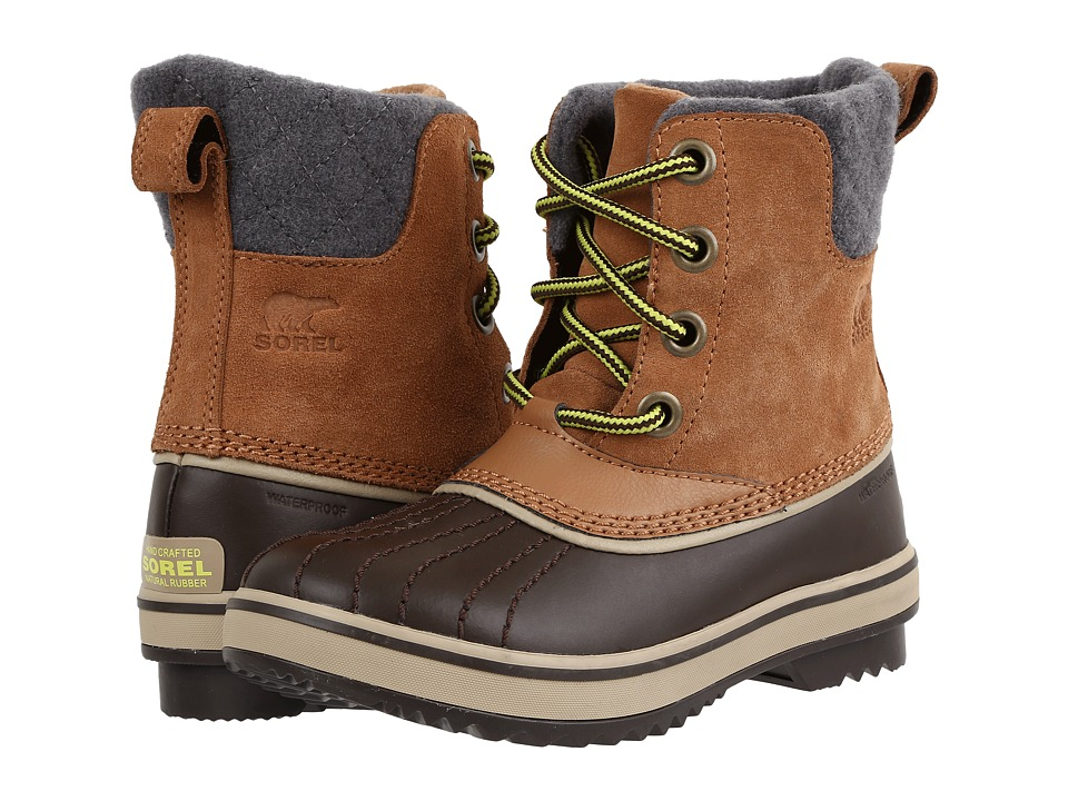 SOREL Kids Slimpack II Lace (Little Kid/Big Kid) (Elk/Cordovan) Kids Shoes