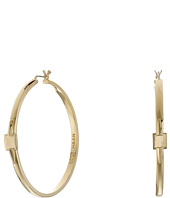 Cole Haan - Architectural Metal Hoop Earrings
