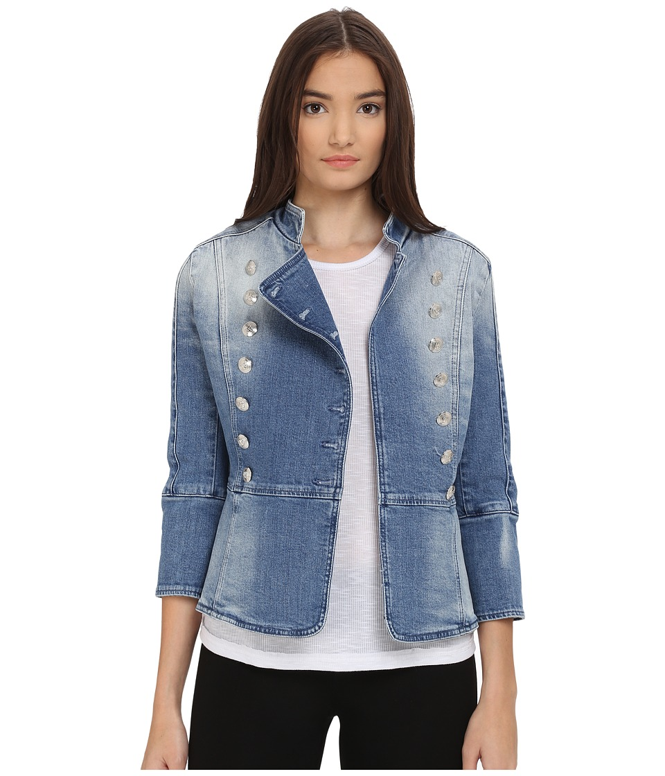 Pierre Balmain Denim Embellished Jacket Denim Blue Womens Jacket