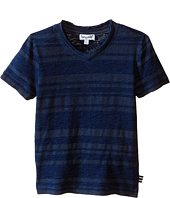 Splendid Littles - Striped Short Sleeve Tie-Dye Tee (Toddler)
