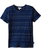 Splendid Littles - Striped Short Sleeve Tie-Dye Tee (Little Kids/Big Kids)