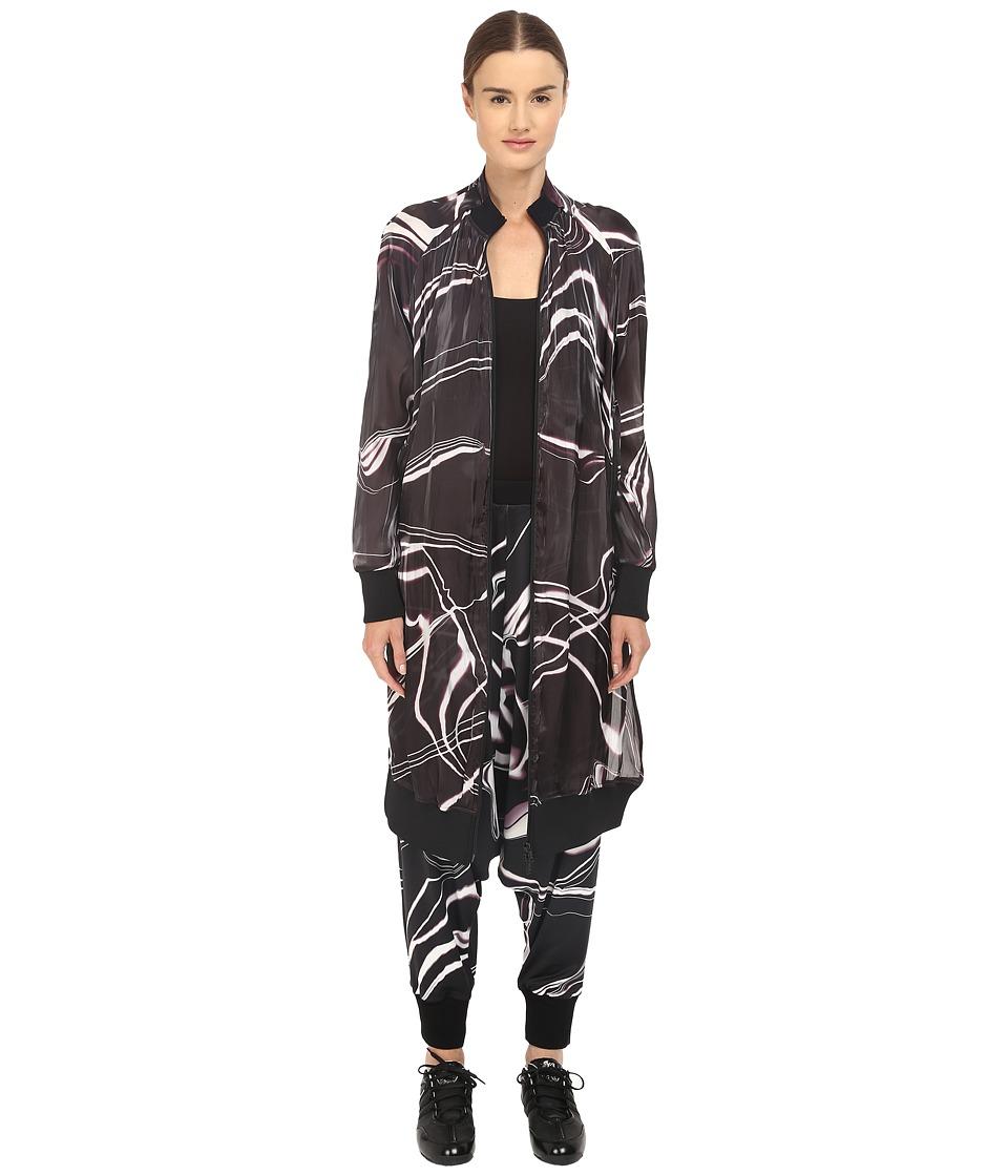 adidas Y 3 by Yohji Yamamoto W Aop Bomber Aop Lightning Womens Coat