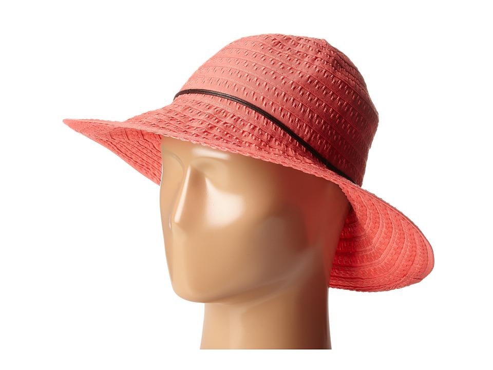 Betmar Coconut Ring Safari Spiced Coral Safari Hats