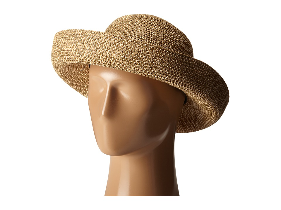 1940sStyleHats Betmar - Classic Roll Up Natural Caps $27.99 AT vintagedancer.com